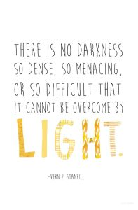 light quote